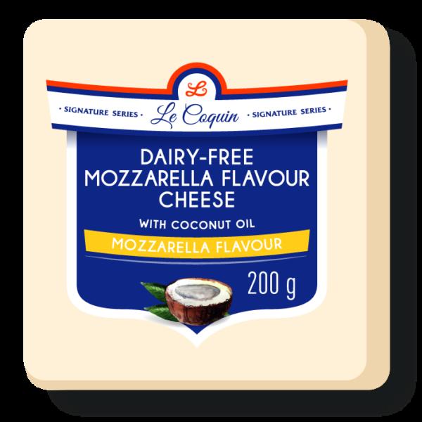 dairy free mozzarella flavour cheese