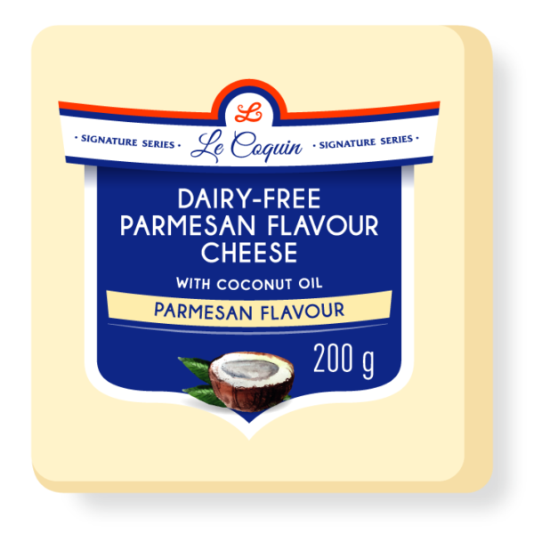 dairy free parmesan flavour cheese